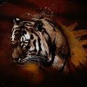 Dark Tiger Live Wallpaper icon