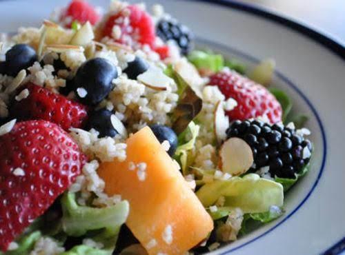 Quinoa With Fruit & Cinnamon