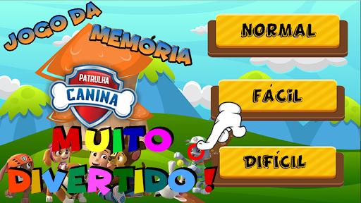 Patrulha Canina Jogo da Memu00f3ria 1.0.0.9 screenshots 1