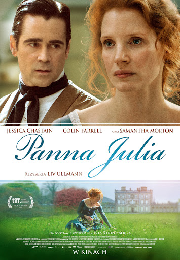 Polski plakat filmu 'Panna Julia'