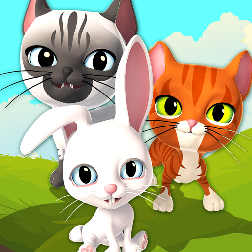 Talking Cat and Bunny Icon