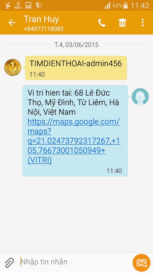 Dinh vi dien thoai | Giam sat- screenshot