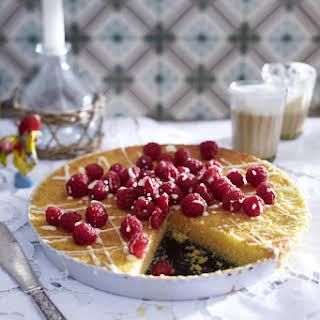 Tart De Amandoas - Portuguese Almond Cake.