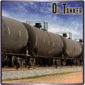 Oil Tank Transport Cargo Train