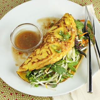 Vegetarian Vietnamese Pancakes