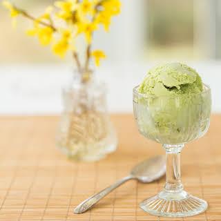 Matcha Green Tea Frozen Yogurt.