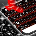 Keyboard Red Flame icon