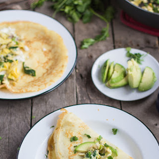 Savory Breakfast Crepes + special announcement
