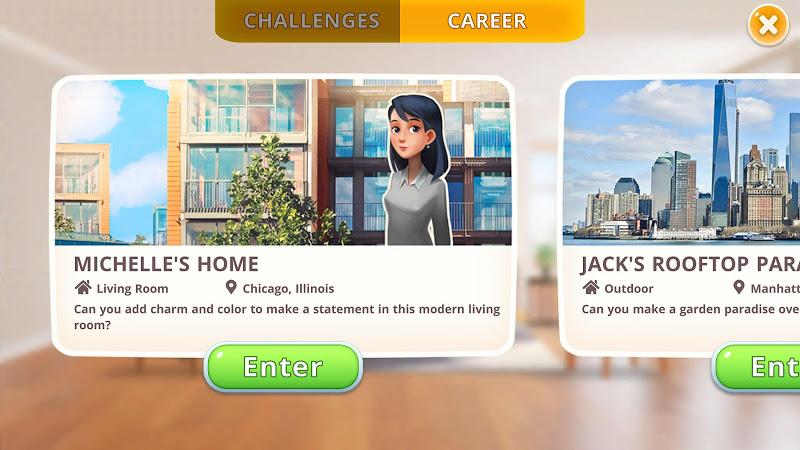 Homecraft - Home Design Game Screenshot 3