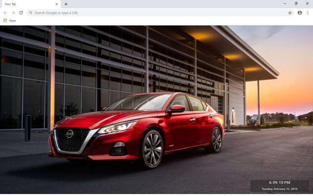 Nissan Altima New Tab & Wallpapers Collection