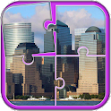 Cities Puzzle Game icon