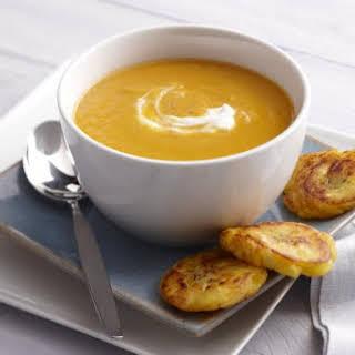 Caribbean Pumpkin Ginger Soup.