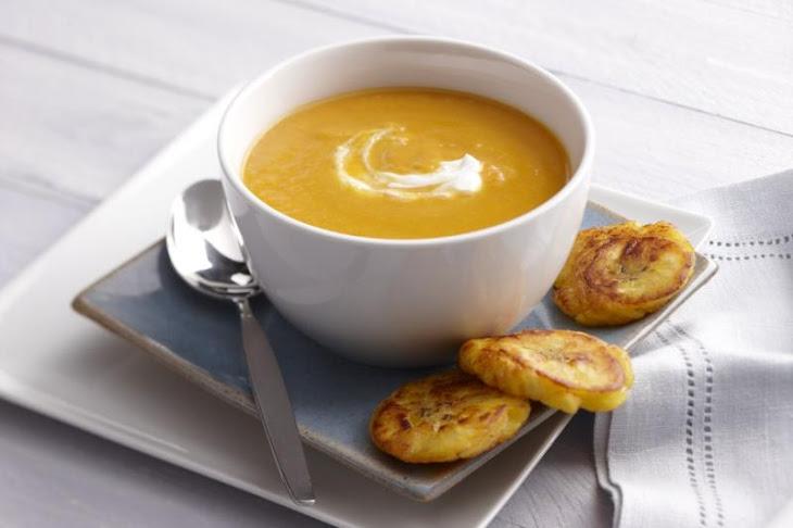 Caribbean Pumpkin Ginger Soup Recipe