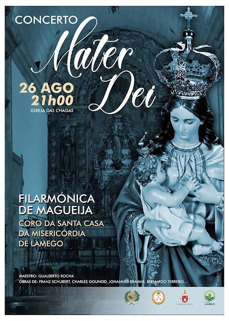 """Igreja das Chagas apresenta Concerto """"Mater Dei"""" nas Festas dos Remédios"""