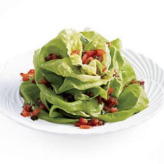 Blooming Bibb Lettuce Salad