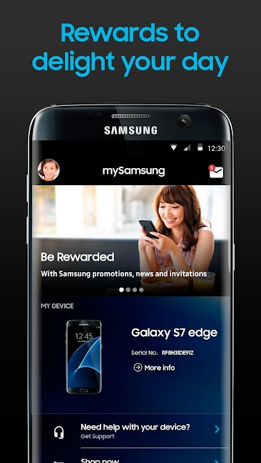 #2. mySamsung (Android)