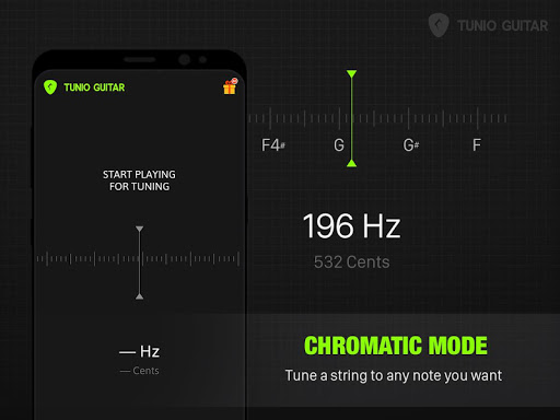 Guitar Tunio - Guitar Tuner 1.12.0 screenshots 2