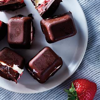 Strawberry Ice Cube Tray Bonbons Recipe