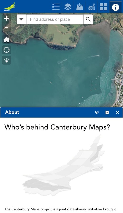Canterbury Maps- screenshot