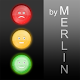 Merlin Noise Traffic Lights icon