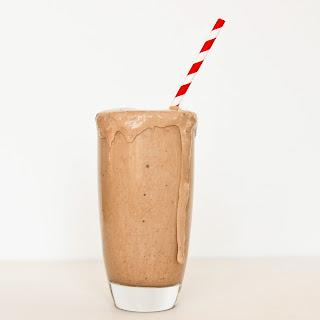 Chocolate Peppermint Protein Milkshake