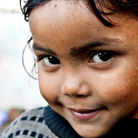 smile by Mahesh Thiru - Babies & Children Children Candids ( love, chubby, white, children, kids, cute, smile, hair, black, eyes )