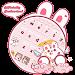 Cute Rabbit Da Ji Tu Keyboard icon