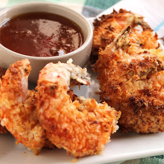 Coconut Shrimp with Spicy Marmalade Sauce (and an AirFryer Review).