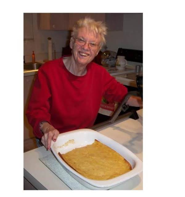 My Sister, Linda Anne Jones, Just Made Corn Bread Which We Both Love.