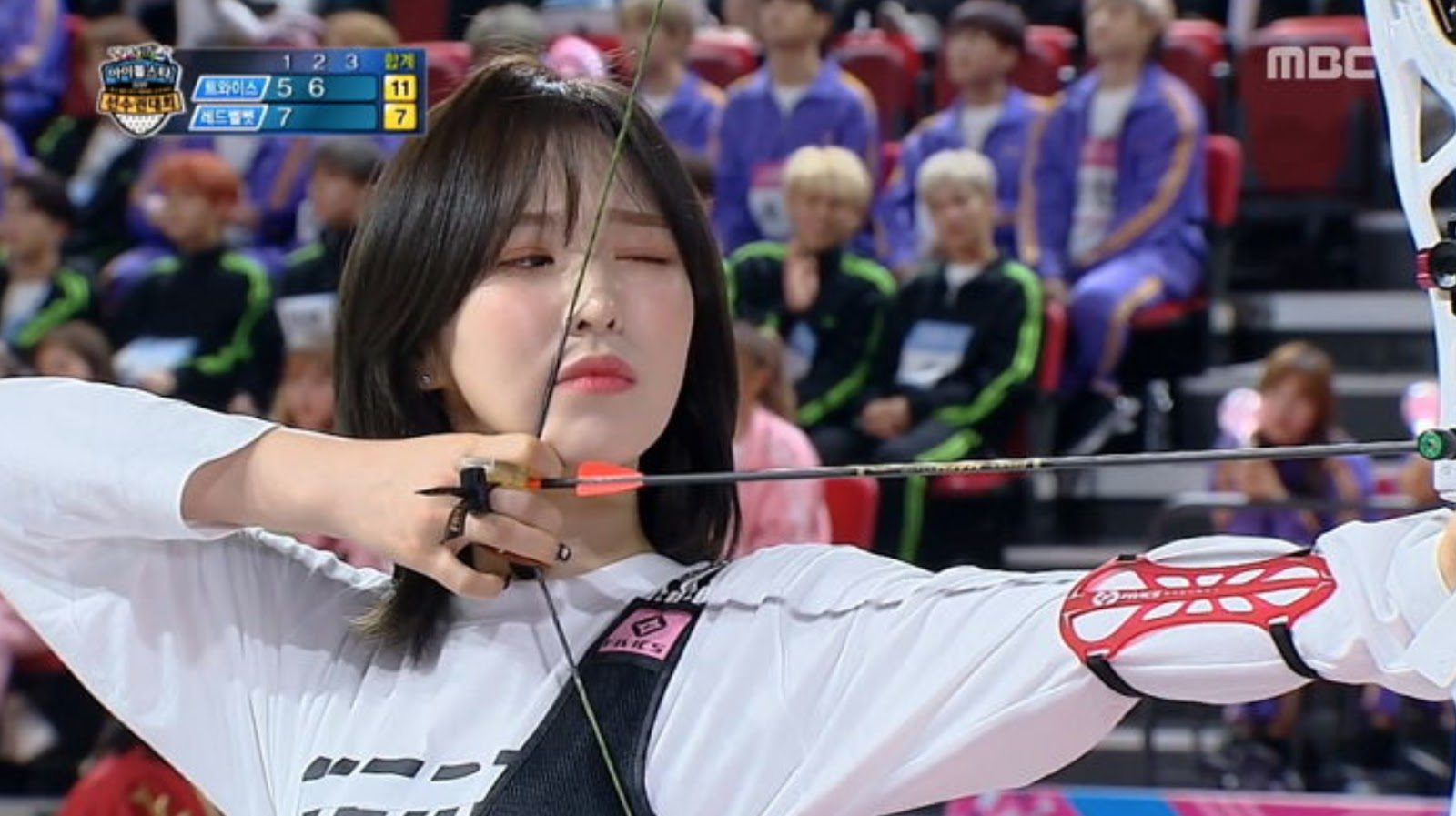 Red Velvet's Wendy Silences Viewers at Idol Star Athletics