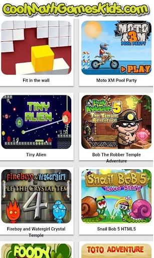 CoolMathGamesKids.com - Play Cool Math Games screenshot 1