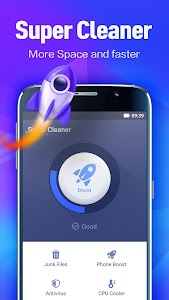 Super Cleaner - Antivirus, Booster, Phone Cleaner 2.4.24.115631