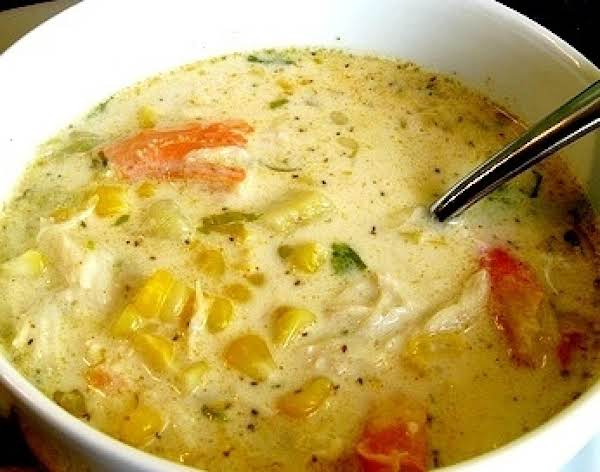 Corn And She Crab Bisque