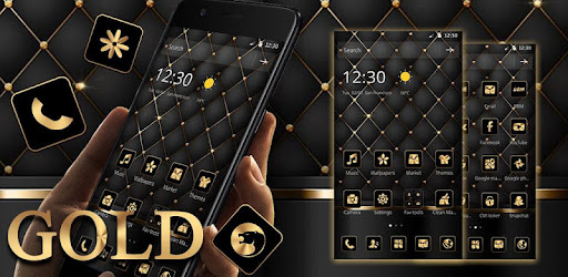 Gold Black Luxury Business Theme for PC