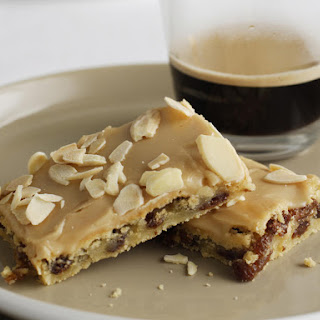Coffee and Almond Bars