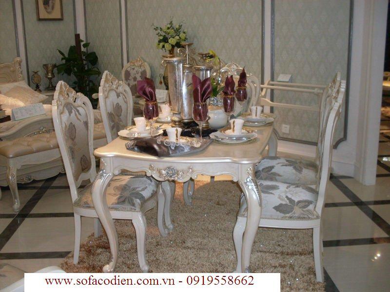 bàn ăn cổ điển q2