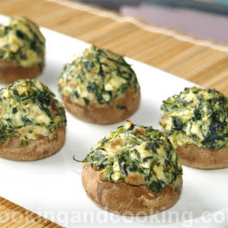 Cream Cheese And Spinach Stuffed Mushrooms Recipes