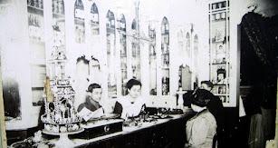La célebre pastelería que aún sobrevive, cuando estaba en la Rambla Alfareros.