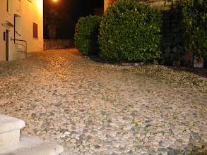 Photo: Fast das gesamte centro storico ist mit Kieselpflaster bedeckt.