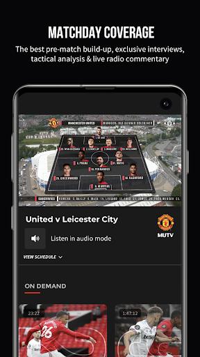 MUTV u2013 Manchester United TV 2.9.0 screenshots 1