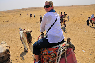 Photo: Jeanette on Camel