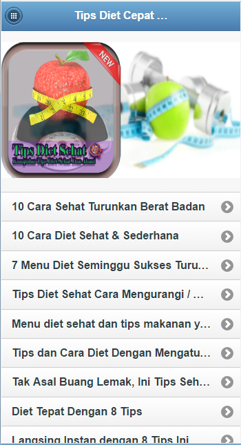 "Resep Diet Sehat ""Super Cepat"" - Android Apps on Google Play"