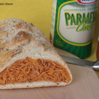 Baked Spaghetti Braid.