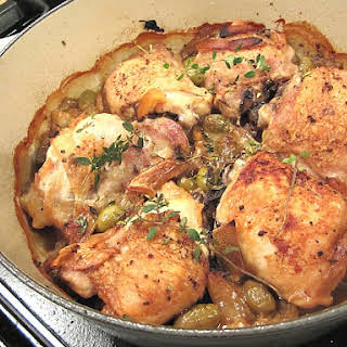 Chicken Thighs With Green Olives Recipes.