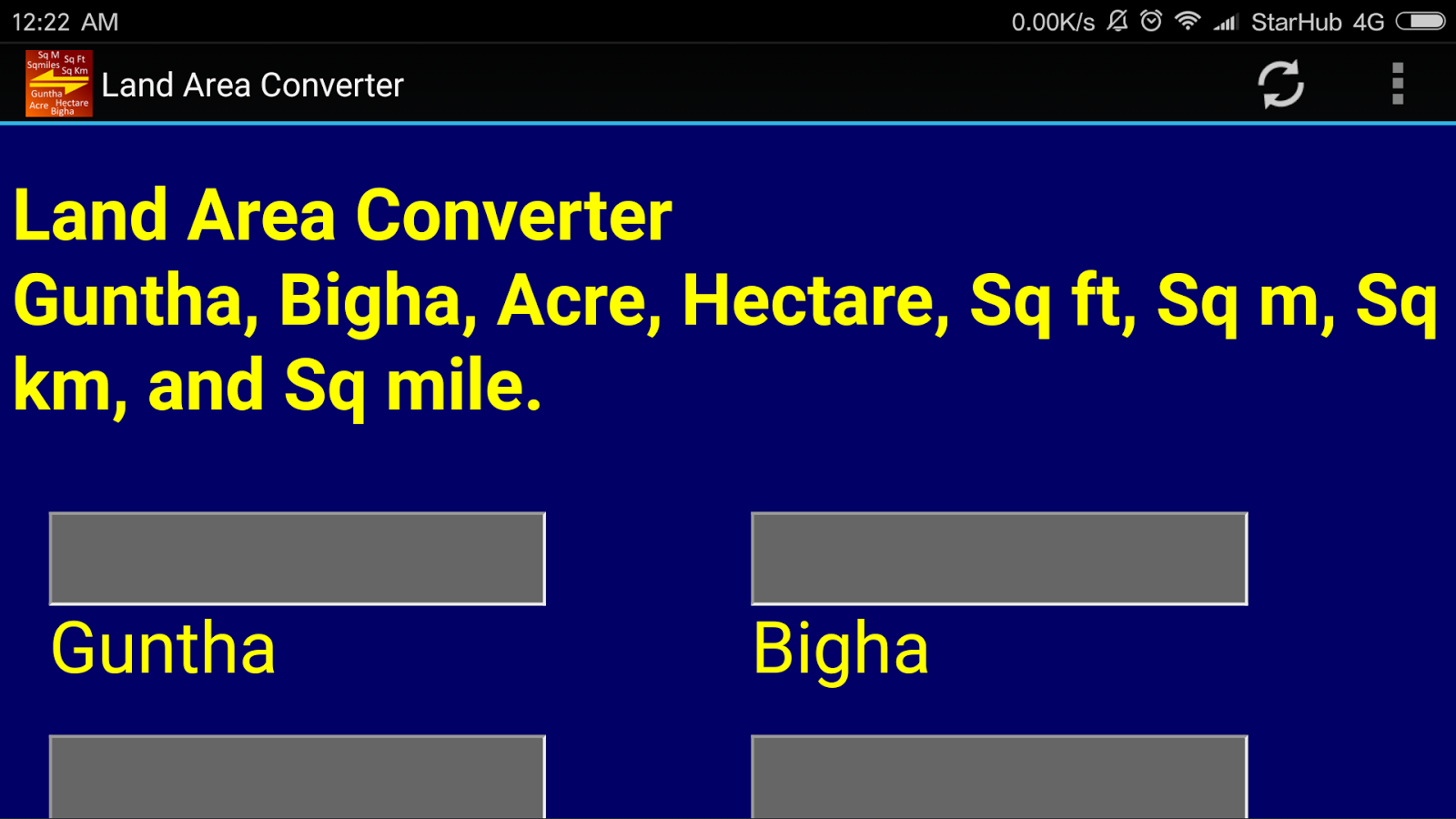 India land area converter android apps on google play india land area converter screenshot nvjuhfo Choice Image