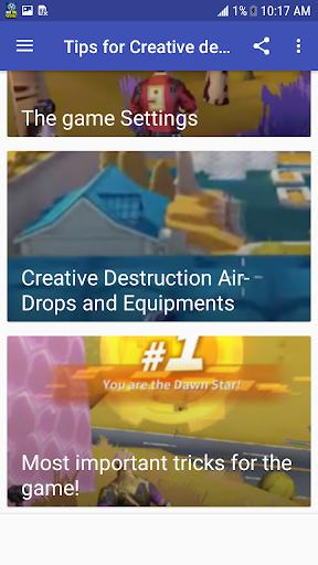 Tips for Creative destruction guide 1.0 screenshots 2