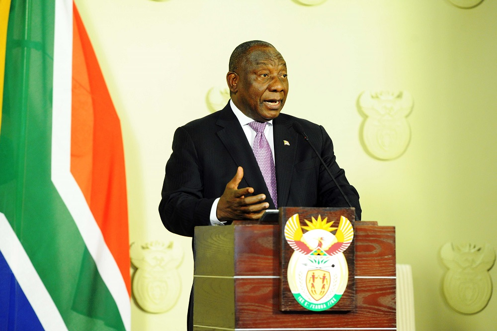 Ramaphosa looks to the future and economic growth with reshuffle