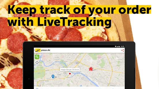 pizza.de - order food online Screenshot 22