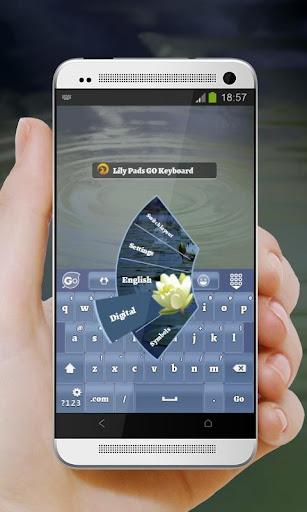 無料个人化Appのリリーパッド GO Keyboard|記事Game