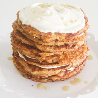 Gluten Free Carrot Pancake Cake Recipe
